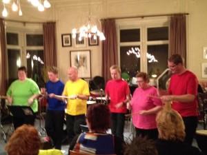 Slagwerkgroep concert 17-11-2012