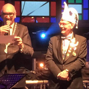11 November 2015 - Voorzitter Hennie Van Gemert Onderscheiden